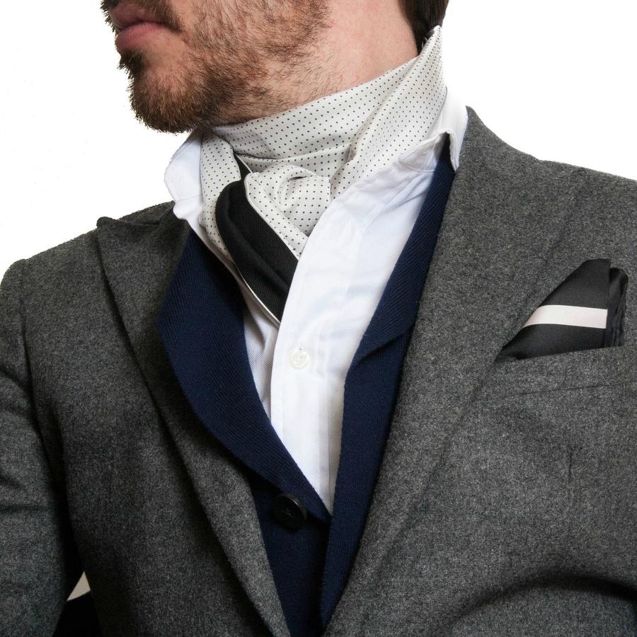 Comment porter un foulard homme