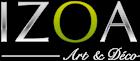 Logo tableau abstrait Izoa.fr