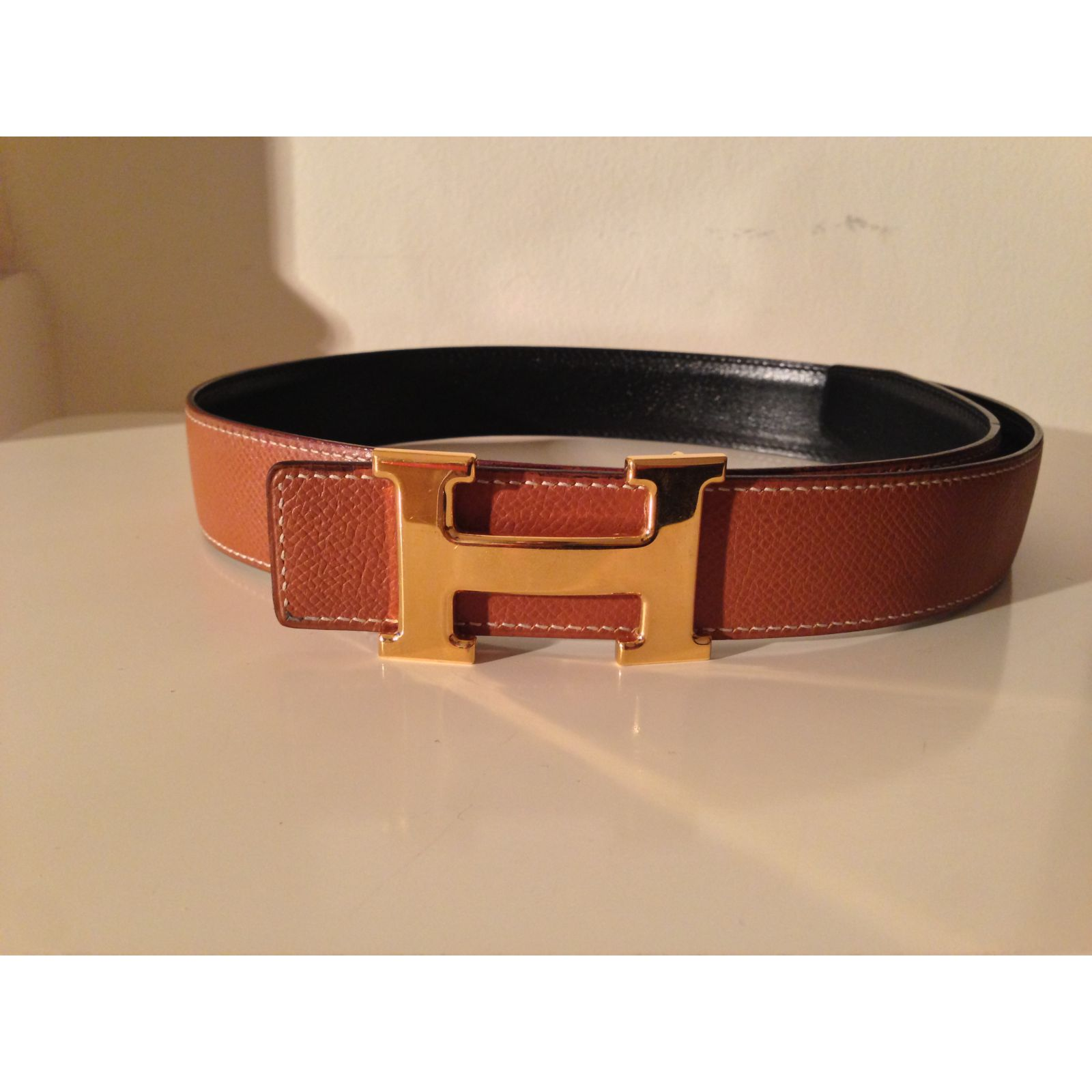 ceinture hermes orange,ceinture hermes collector h email orange noir ... 4983b6e4649
